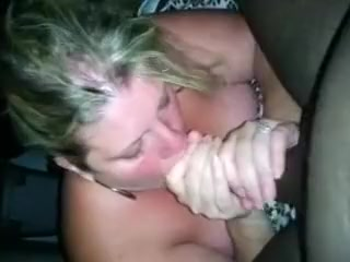 Centre mature wife engulfing dark rod til this guy cums