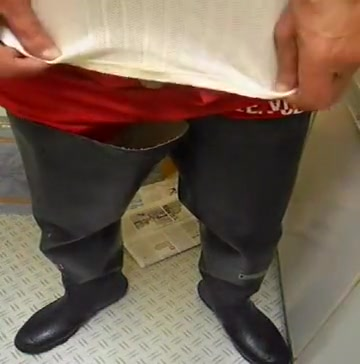nlboots - red underclothes (shorts) and rubber waders sex offenders bristol ct