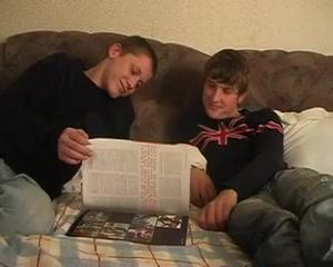 Russian studs read homosexual magazine, previous to have sex Xnxx pornd