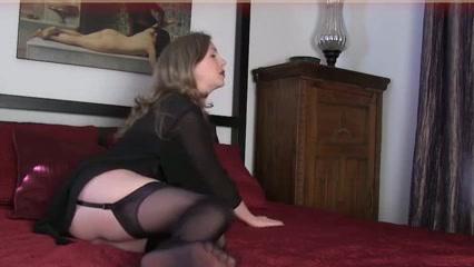 Mature foot fetish Horny ass milf slut enjoys interracial fucking