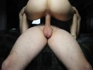Slut riding my stiff schlong