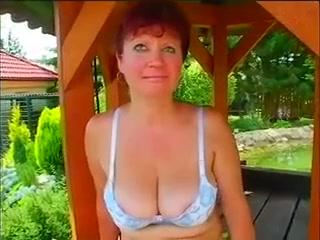Amateur RedHead GILF Jaroslava Fucked Outdoors The Magnificent Girls