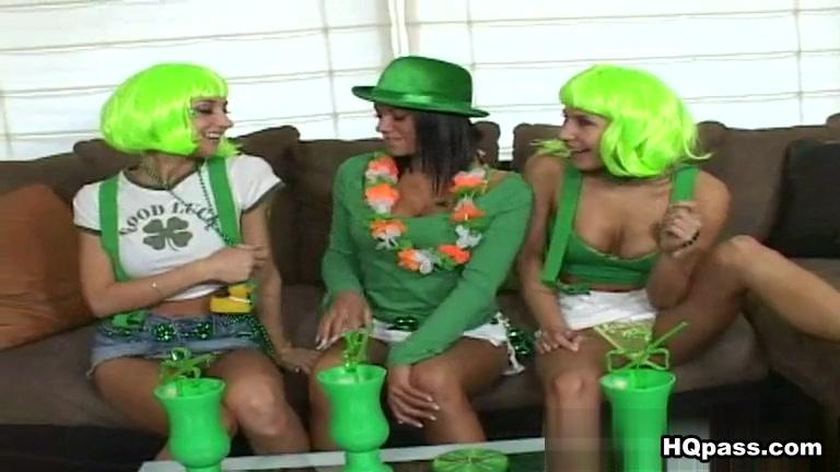 Nikki, Sammie Rhodes, Devi Emmerson in Luck Of The Irish Movie friends swinger lounge houston