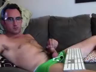 Naughty homosexual is playing in the apartment and filming himself on web camera See through clothes tits