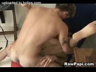Sexy Latino Gay Loves Hard Bareback Fuck anal sex damage to the anus