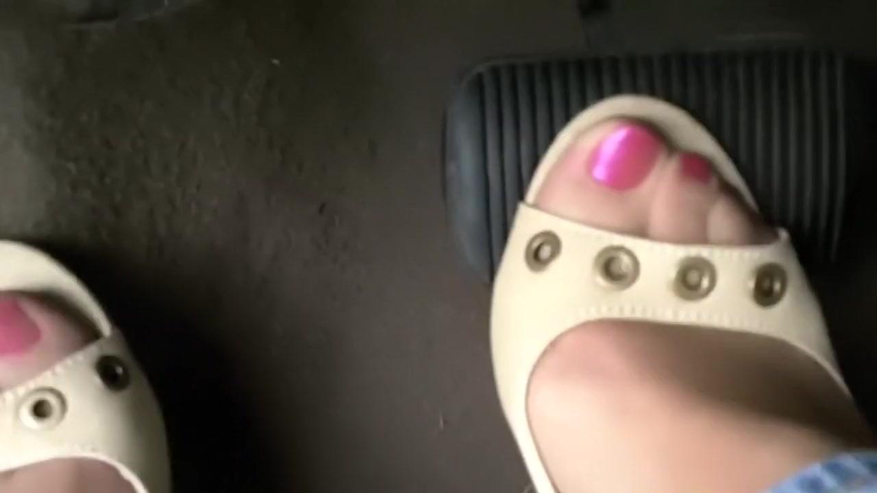 pedal pumping tan heels Jenna marbles blowjob