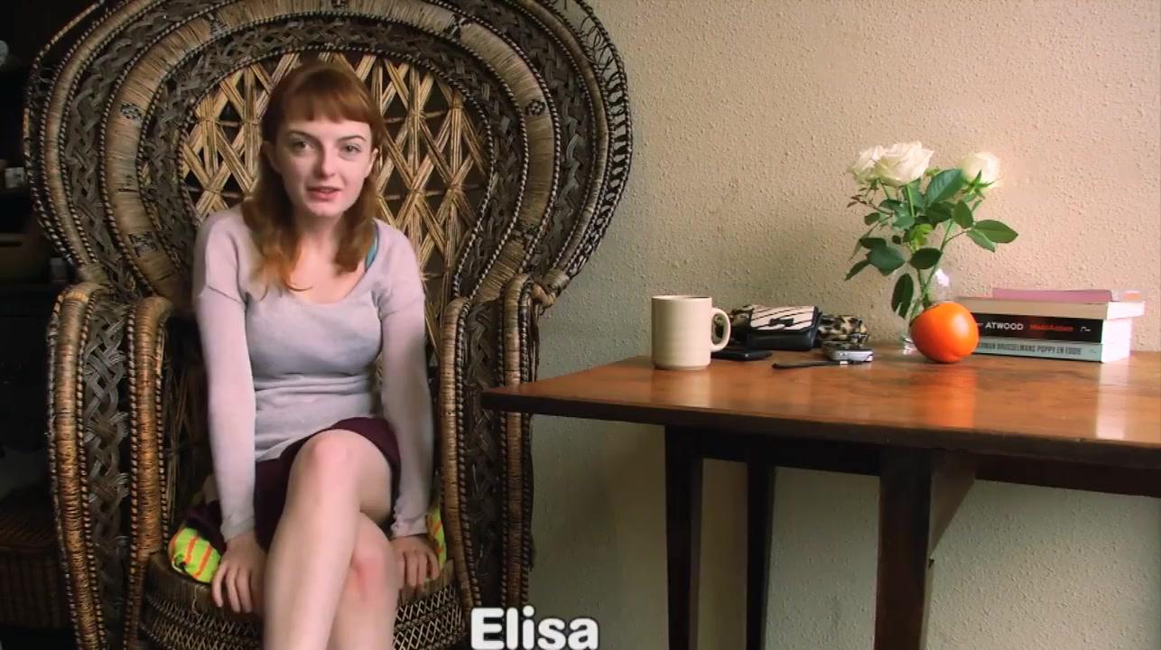 Elisa hot lesbian pusy munching