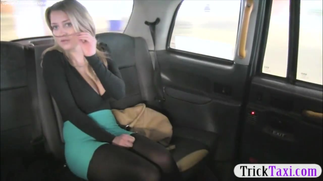 Busty amateur blonde passenger analyzed for a free fare Sunny lane sex fuck tape