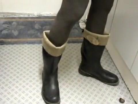 nlboots - rubber dominion boots leather sole Kendra lust jada stevens