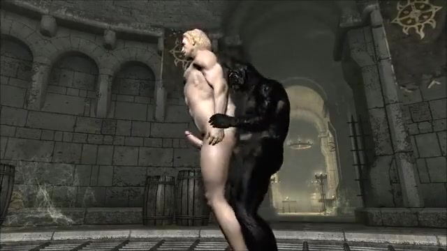 Skyrim: Large Cats Naked sex in bra