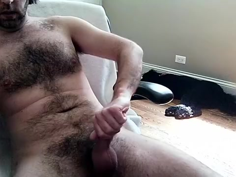 Naughty male is jerking in his room and memorializing himself on web camera dad and daughter sex videos