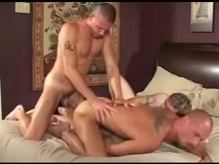 Hawt homosexual guys in tats threeway banging. Card maps - page 249