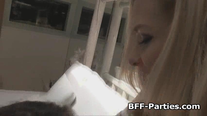Kissing man white black with girls