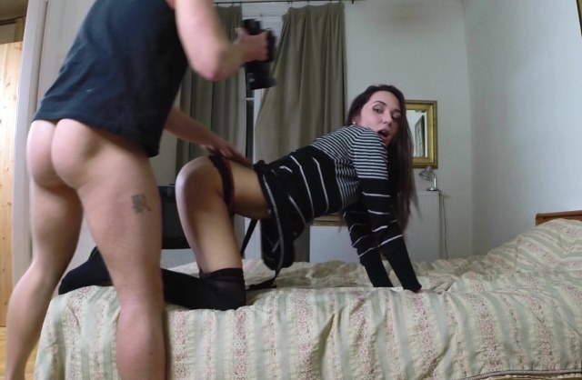 Drilling broke euro chick for money Tits bouncing coveredd in cum gif