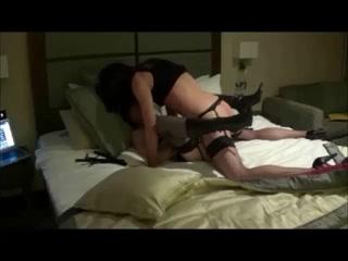 Mistrees Grange & Crossdresser Sophie inside the vagina porn