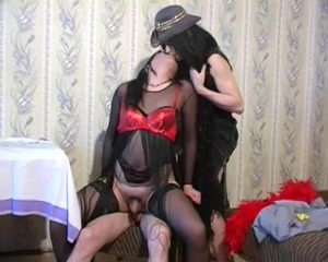 two CD's Crossdressers And 1 Mate losing boobs after pregnancy