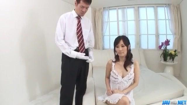 Manami Komukai blows and fucks in romantic scenes Swingers people
