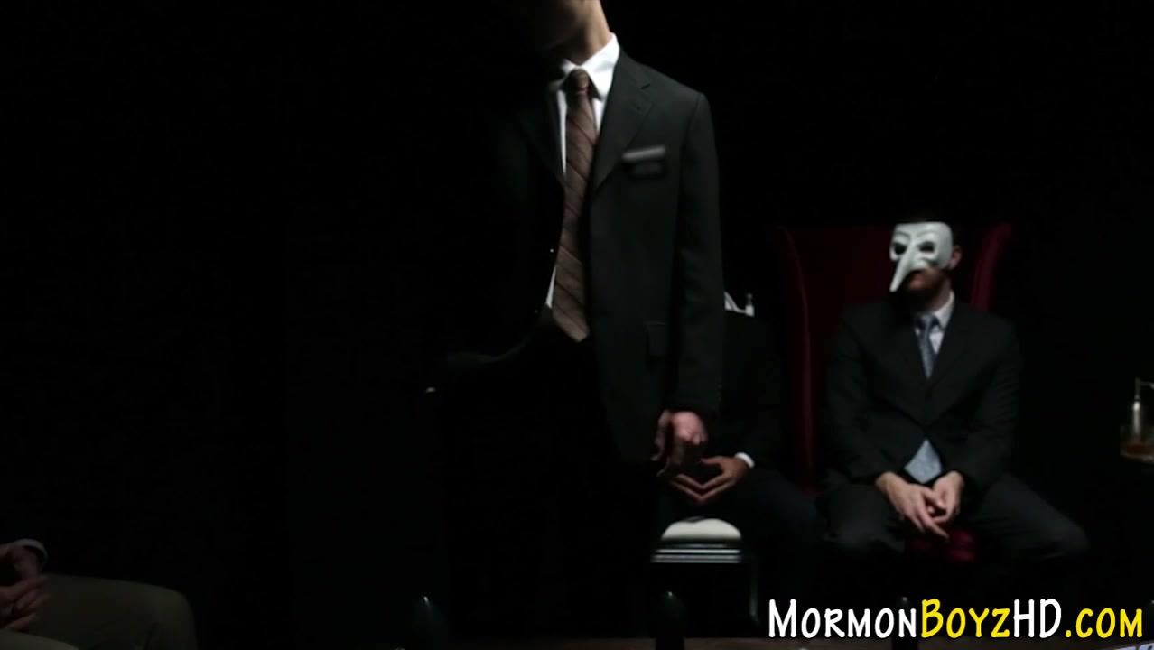 Uniform mormon handjob Big ass mom pantie