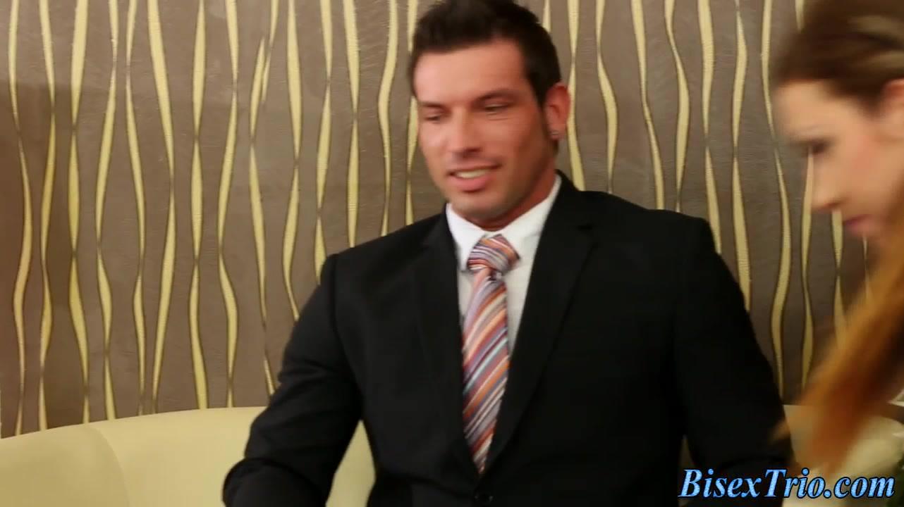 Buff bisexual dude jizzes Sony Lonnhi