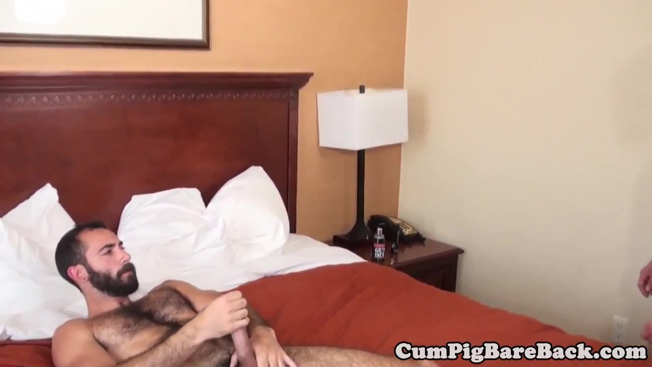 Bear spitroasted with bareback and blowjob oral sex how to give video
