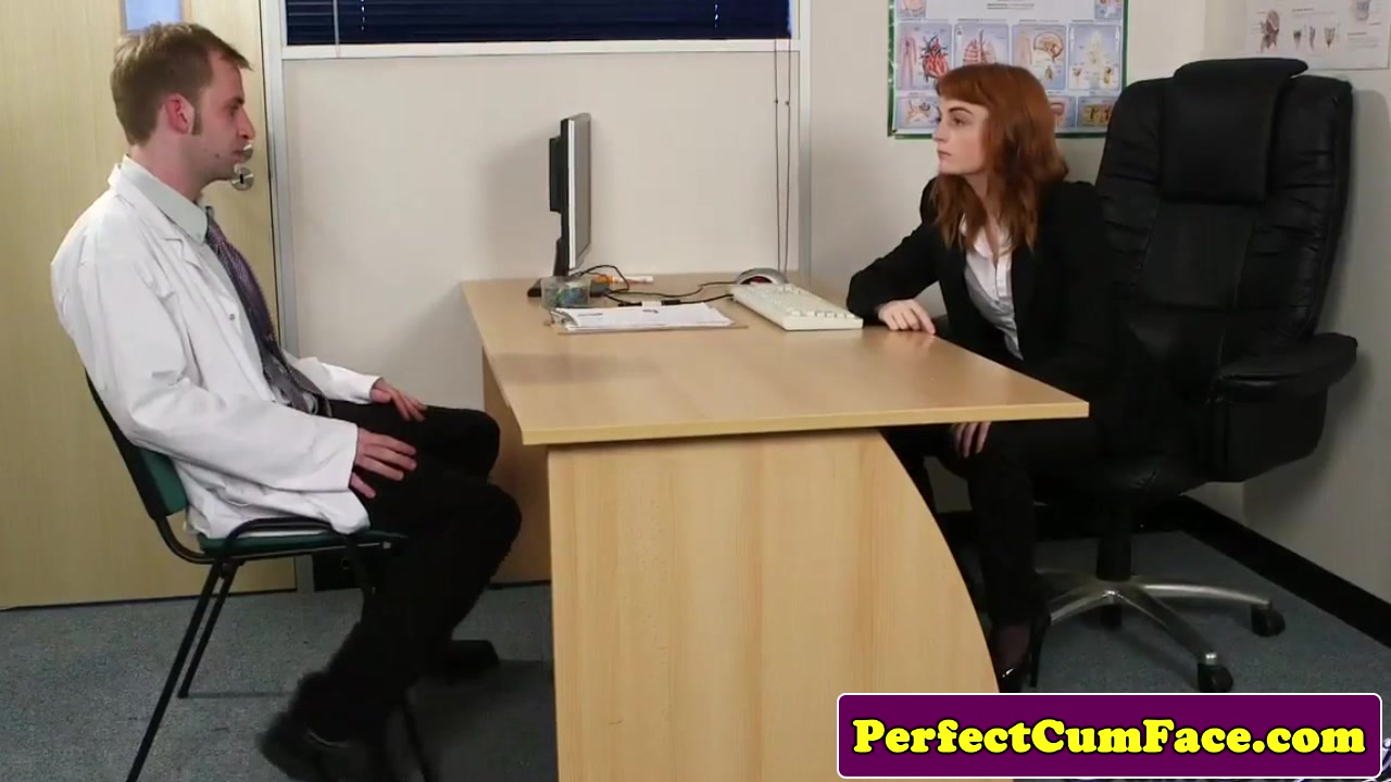 Stockinged redhead facialized in office mature hairy tgp free