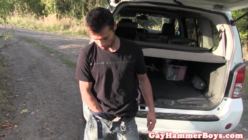 Finelooking hunk solo jerking off on the road How does one get on the sex offender list