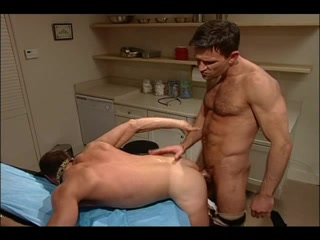 Gay patient fucks his doctor after examination Tyrese nude in playgirl