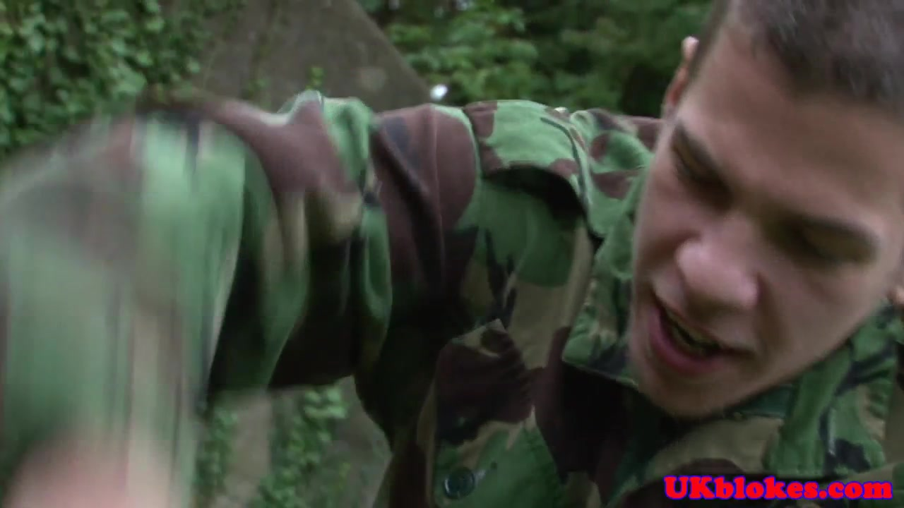 Military top drilling privates tight ass gay older fucks twink