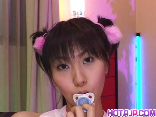 Yukine Fujishiro in socks licks hard penis Buffy da body having sex