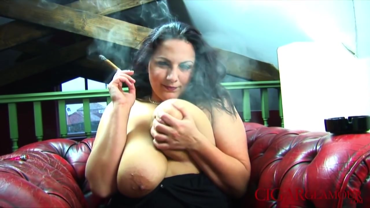 Large Boob Cigar Smokin Fetish With Mellie D victoria daniels model page 3
