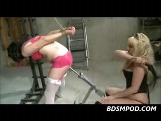 Femdom Starla Destroys Sissy Boy-Friends Butt