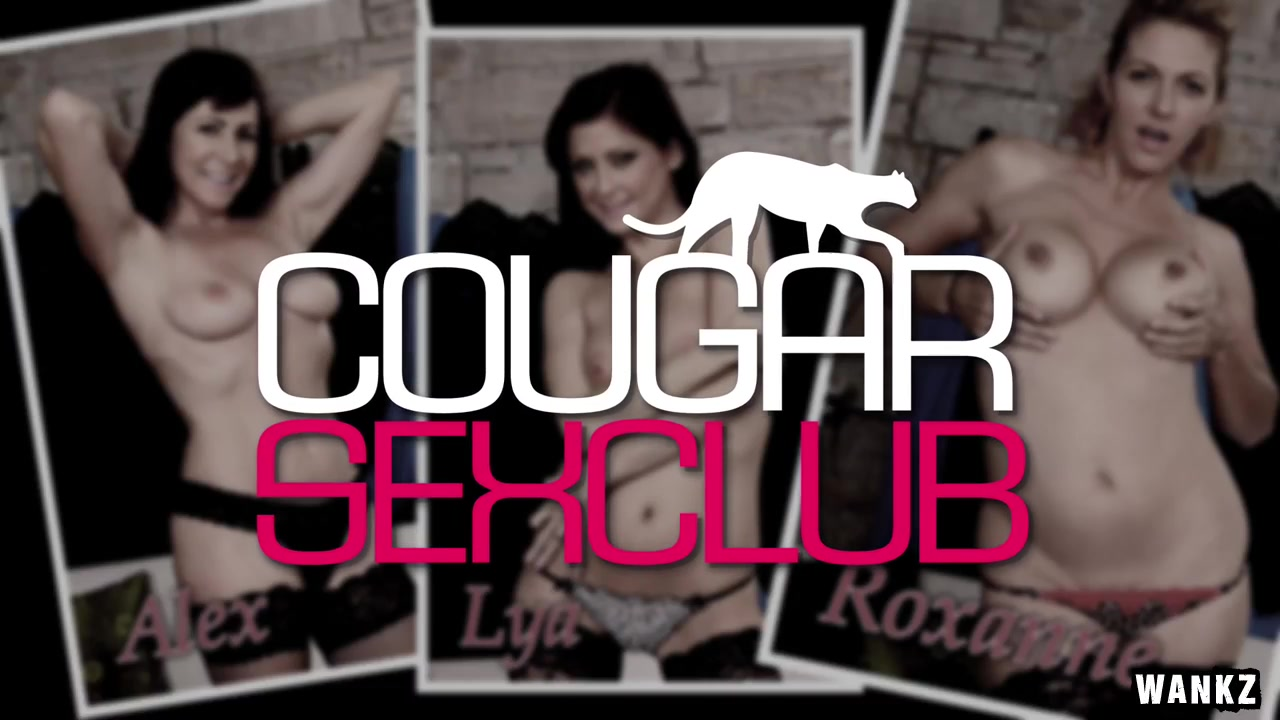 WANKZ- These Cougars Have Wild Orgy