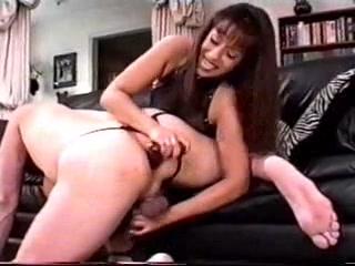 Femdom - Prostate Massage - Milking & Sex-Toy Wife earts black pussy