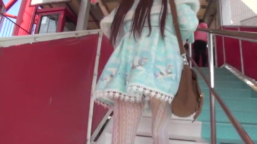 Japanese crossdresser amane outdoor 01 Hard round naked ass