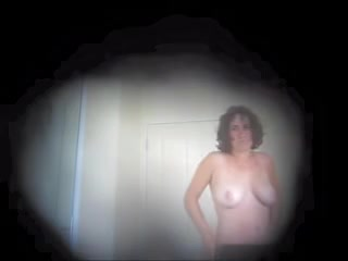Young curly brunette with huge breasts in the shower public russian sex video
