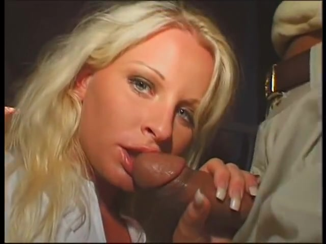 Lewd golden-haired receives her face hole screwed with chaps large wang in your fucking face