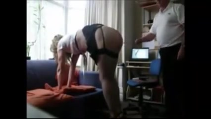 Sissy series 65 slim mature mistress in stockings and high heels free porn