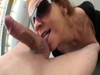 German Gran likes Cum