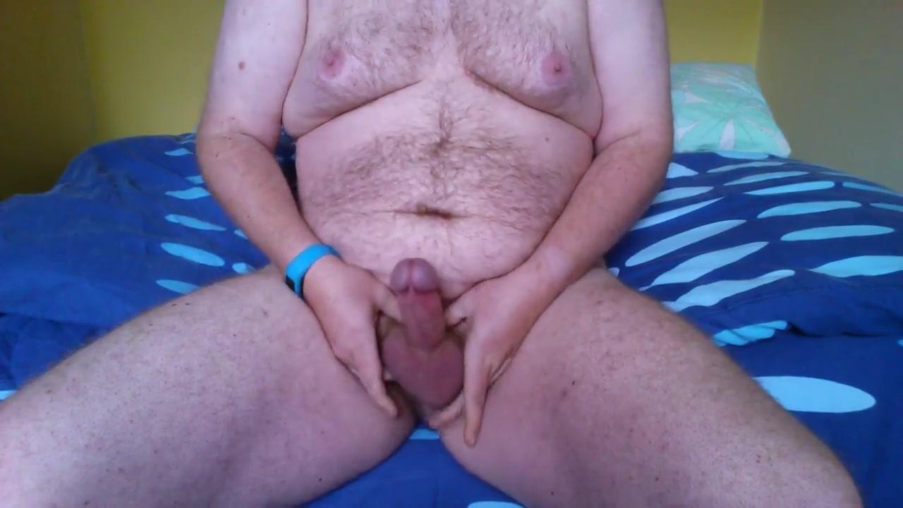 fat man jack off #5 Handjob mutual masturbation video