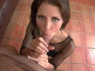 sexy honey oral-sex and cum drink