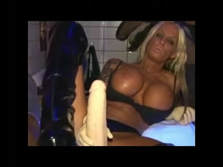 Stella is the Thong on Stretcher Queen in Amsterdam Saw 3 Nude Scene