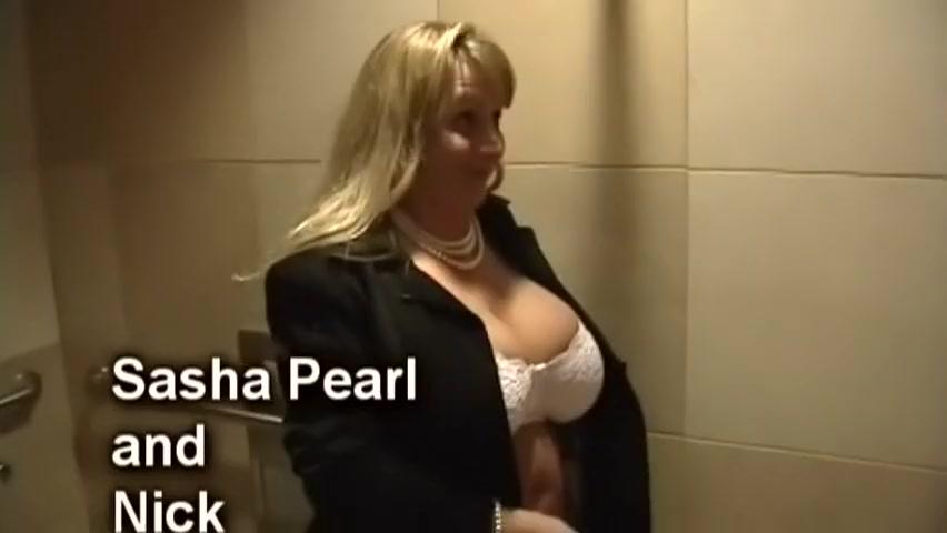Incredible pornstar Sasha Pearl in fabulous blonde, facial sex video