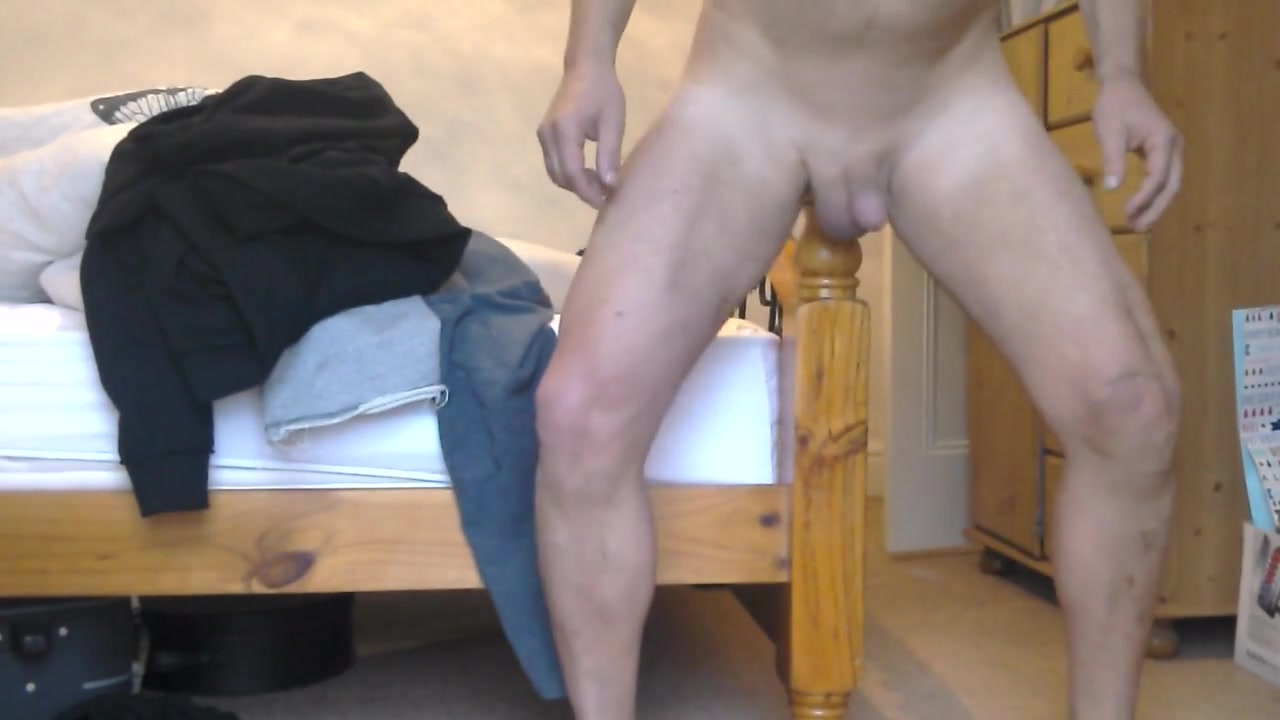 Bedpost up my ass Naked boobs touching