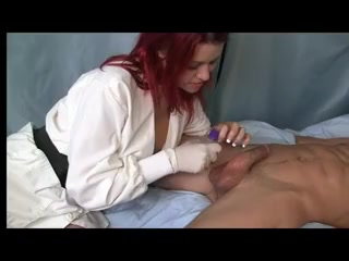 Redhead gives prostate massage Is shambo a lesbian