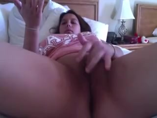 Hot Amateur Hispanic Teen masturbates