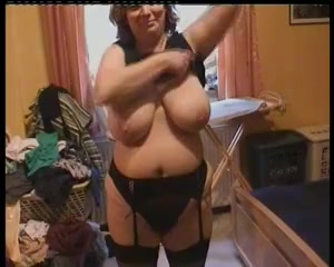 Big scones BBW Mom in black stockings Anal Hd Ass And Pussy