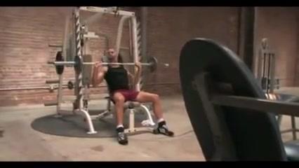 Gym fuck Perfect brunettes love lesbian sex