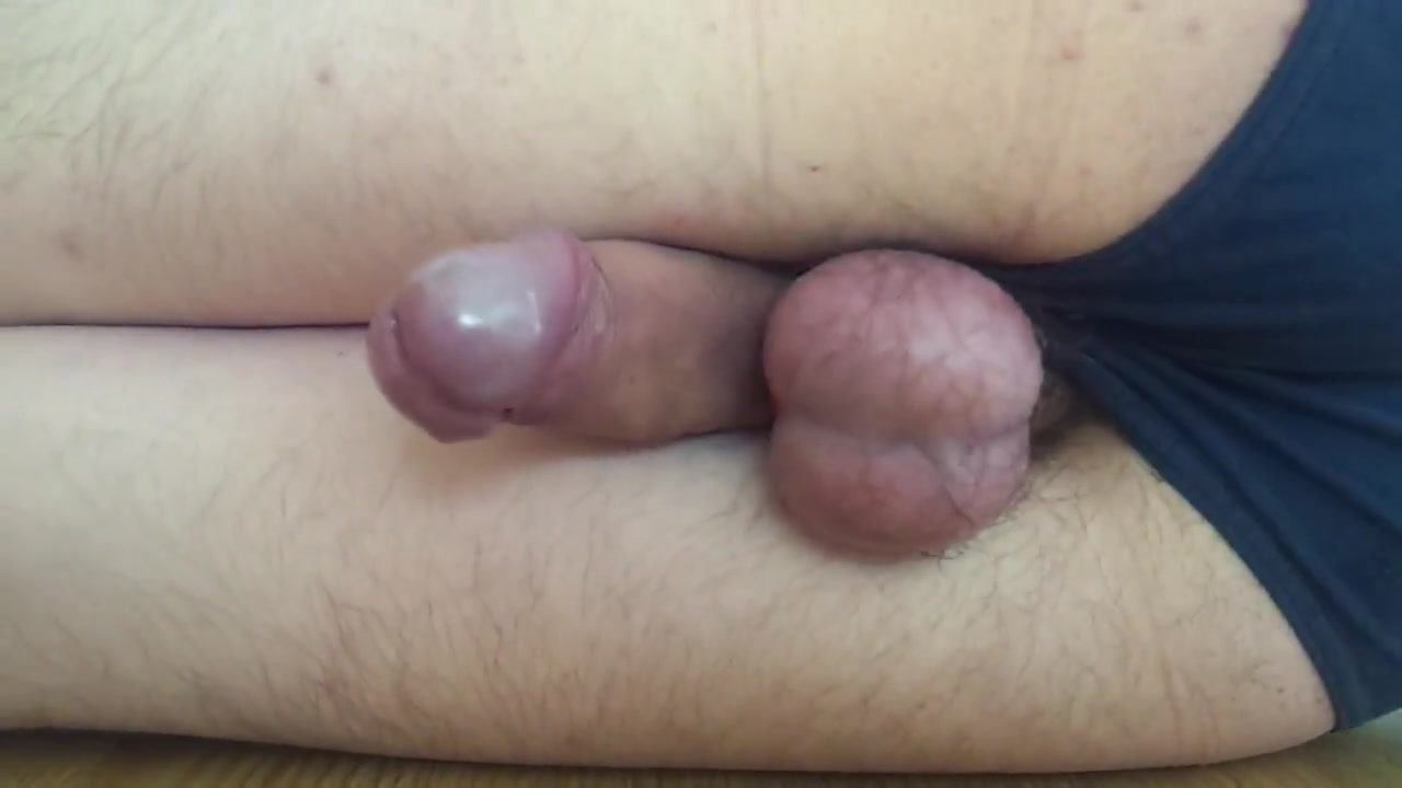 Vibrator fun with cock & balls between my legs + cumshot Busty women in control