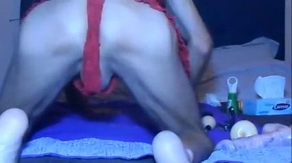 Anal stretching Sexy xmas stockings