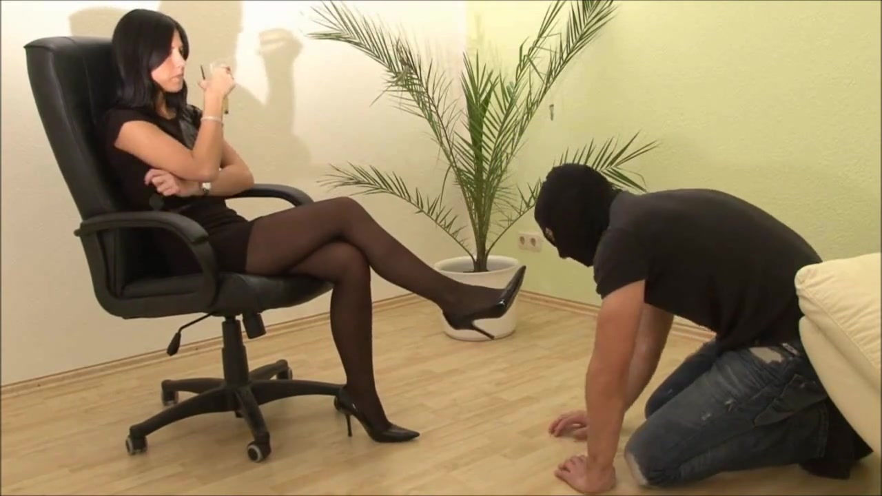 Goddess humiliating her Slave dan savage creampie eating